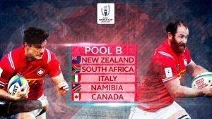 World Cup 2019 Pool B