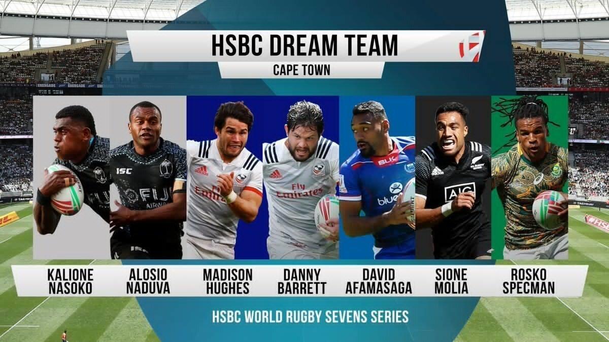 Cape Town Sevens Dream Team