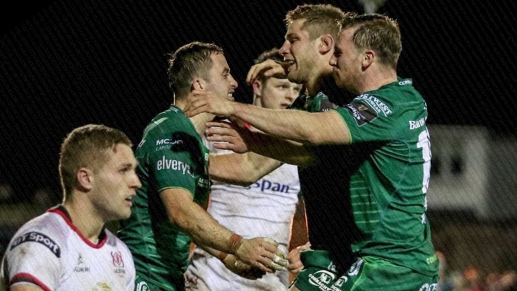Connacht bounce back in style