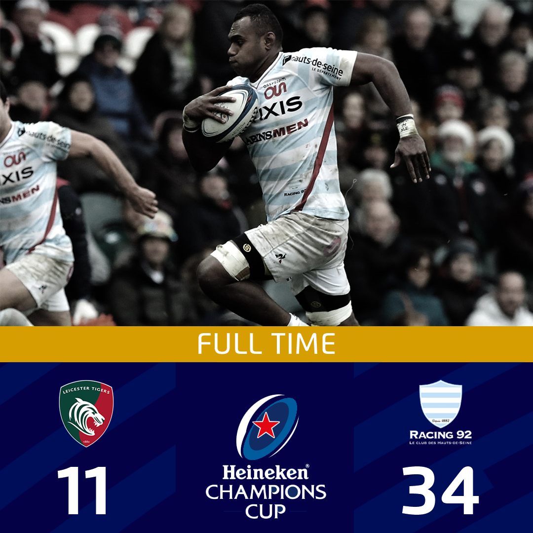 Leicester Tigers v Racing