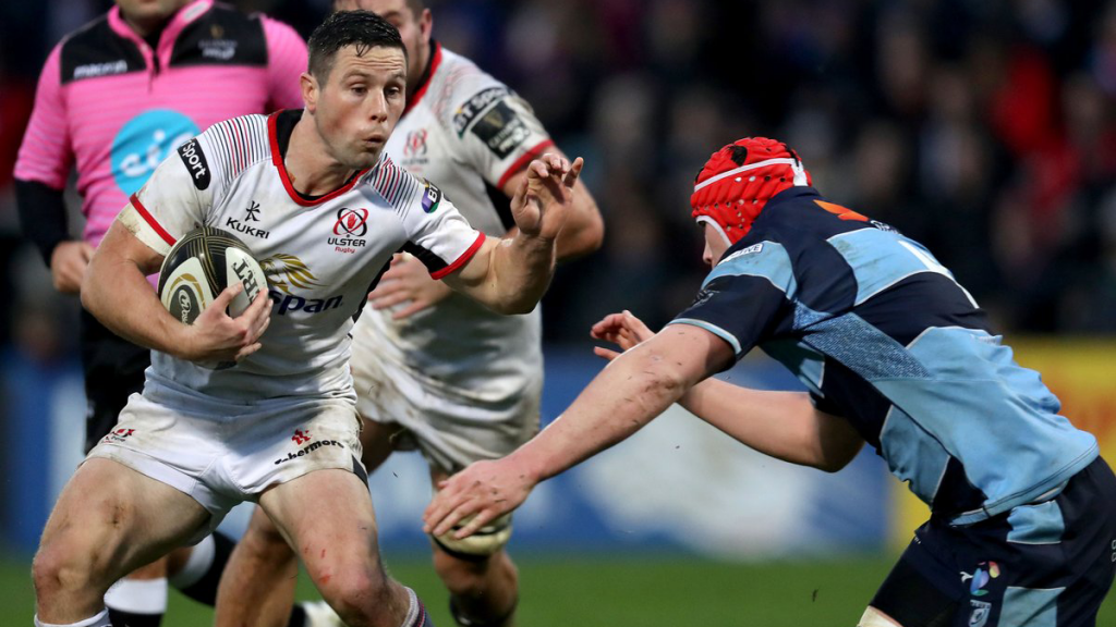Cooney boot lifts Ulster off the floor