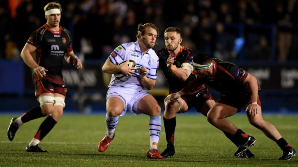 Cardiff edge 14-man Dragons