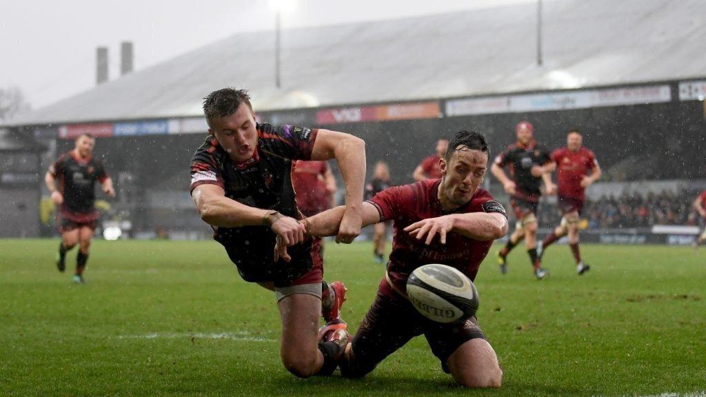 Kleyn score puts Munster back on top