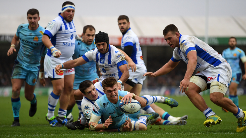 Exeter dent Castres' Play-off hopes