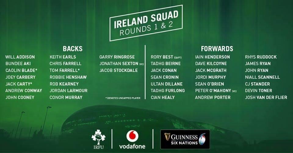Ireland squad