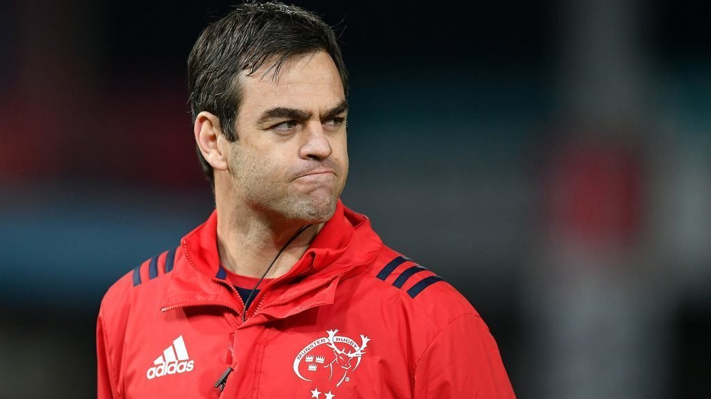 Munster's Van Graan faces his biggest challenge