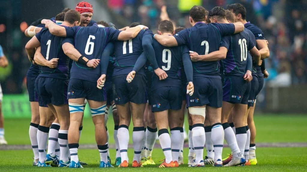 Aussie front and centre for Scotland