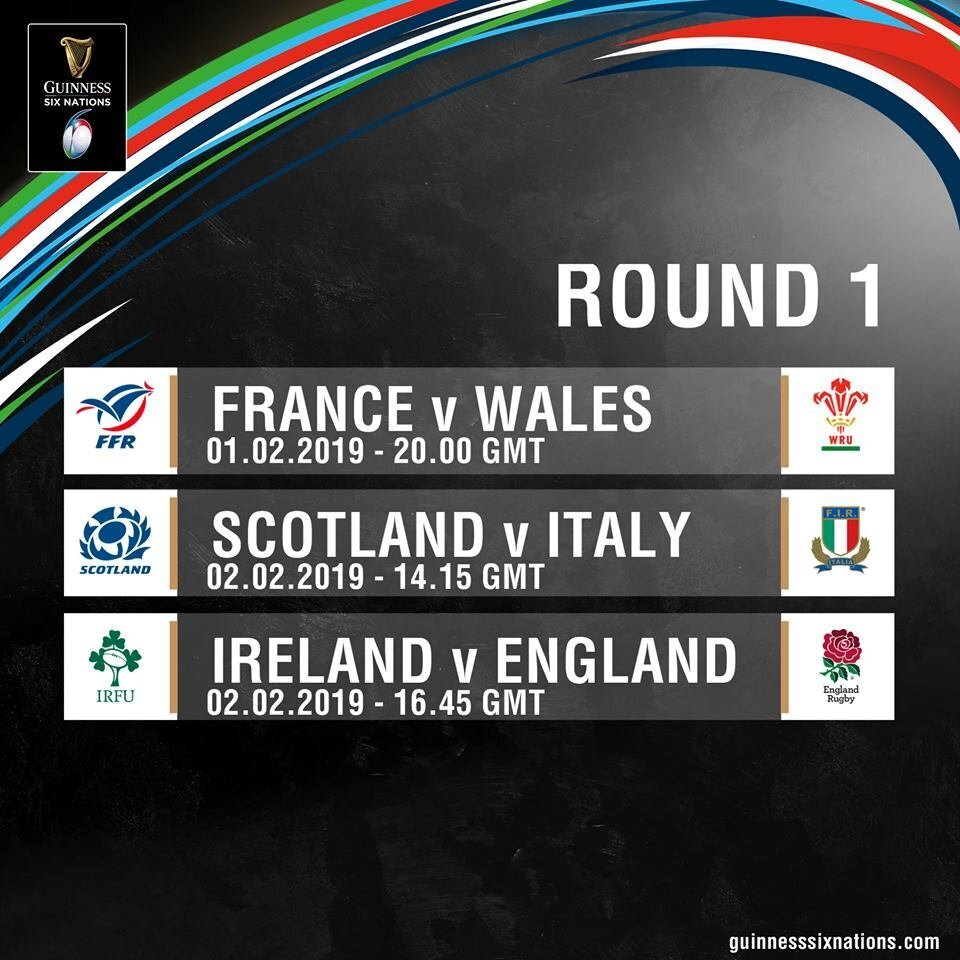 Six Nations Round One