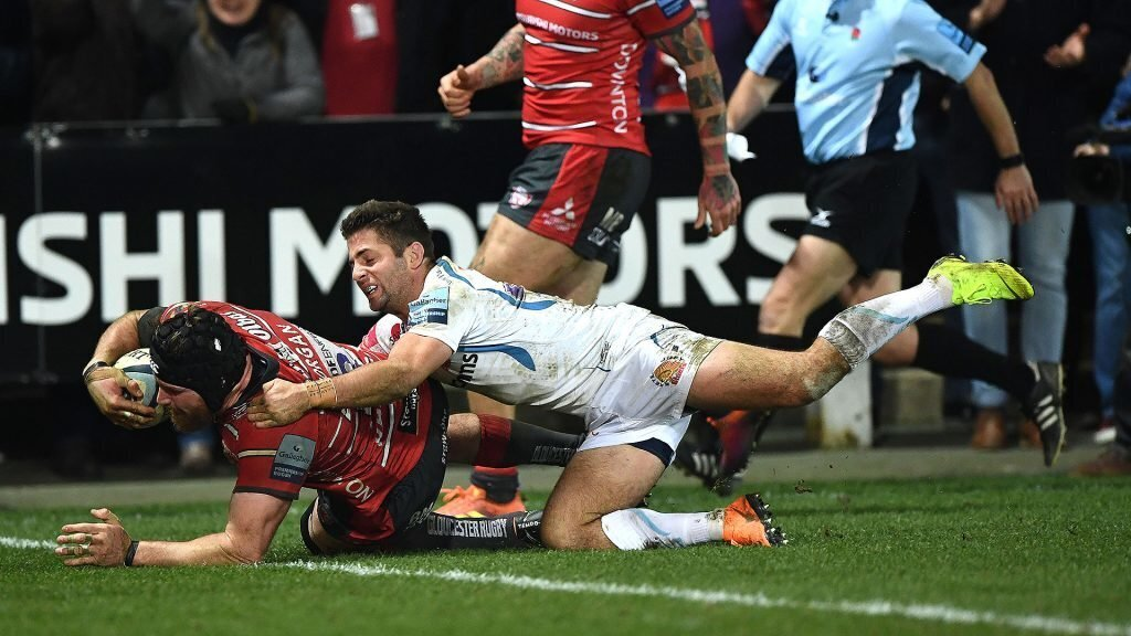Gloucester hold out leaders Exeter