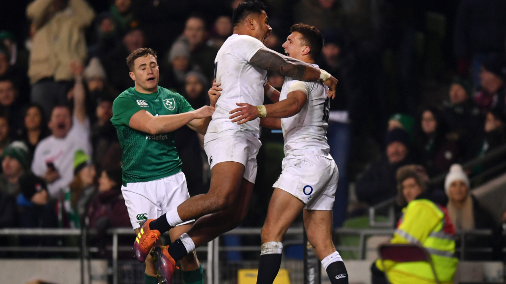 England stain Ireland's Euro supremacy in Dublin
