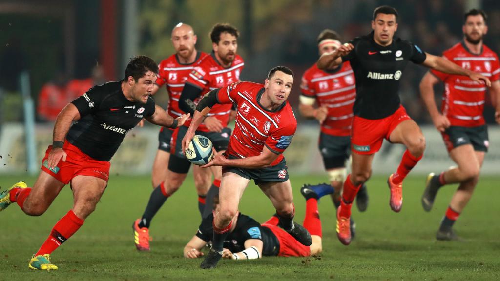Morgan brace helps Gloucester beat Premiership leaders
