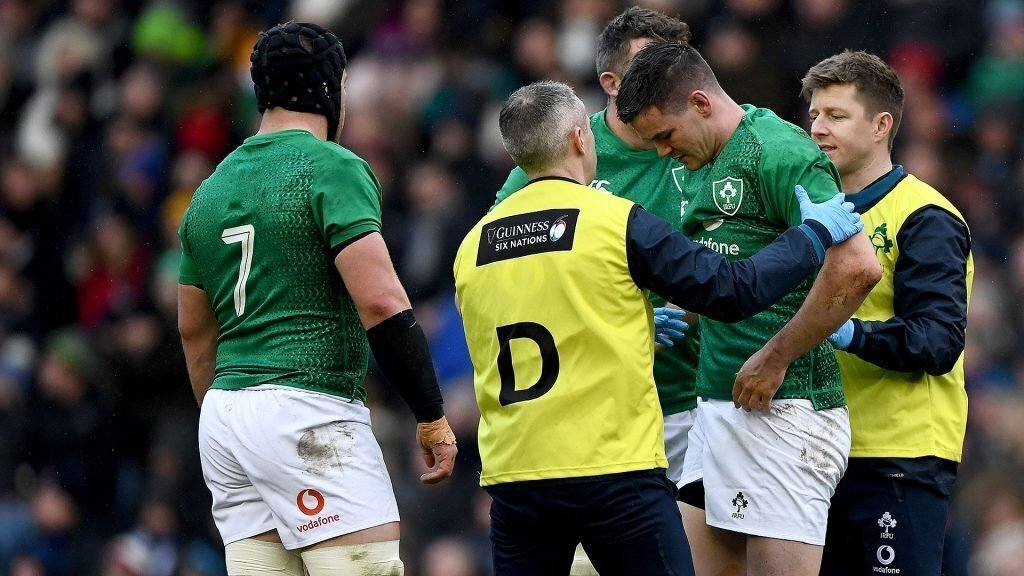 Six Nations: Concern over Sexton's head knocks