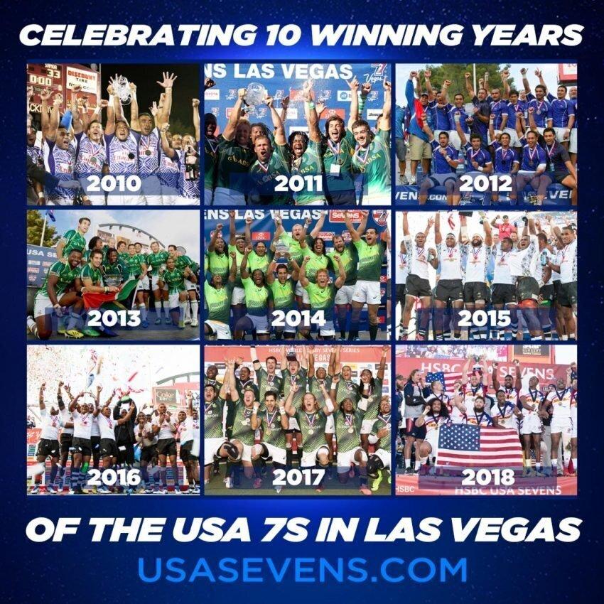 Las Vegas Sevens winners