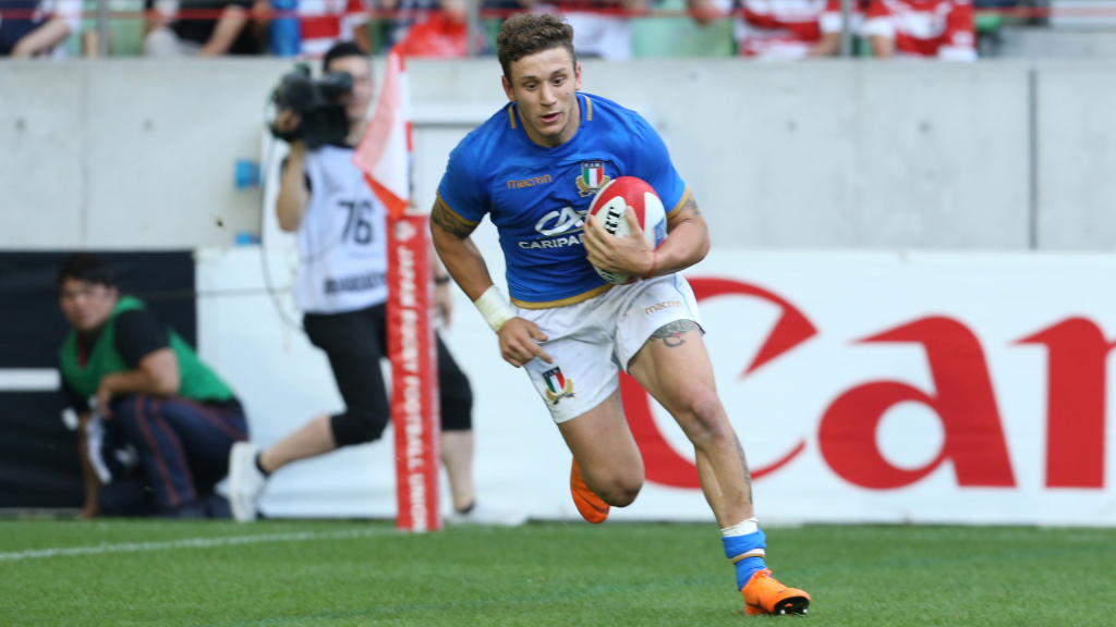 Wasps bolster their backline with versatile Italian