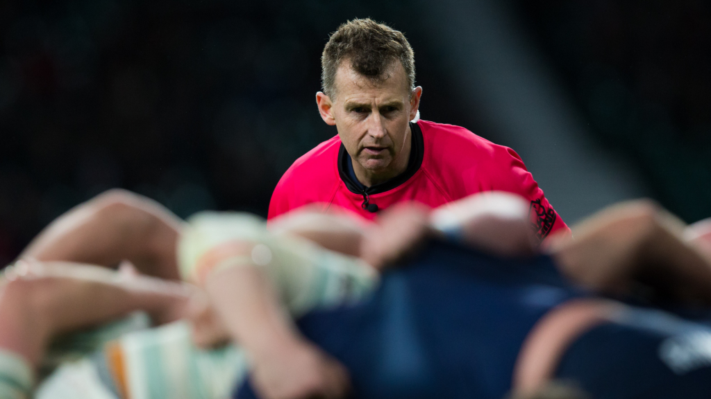 Le Crunch: England's message to Nigel Owens