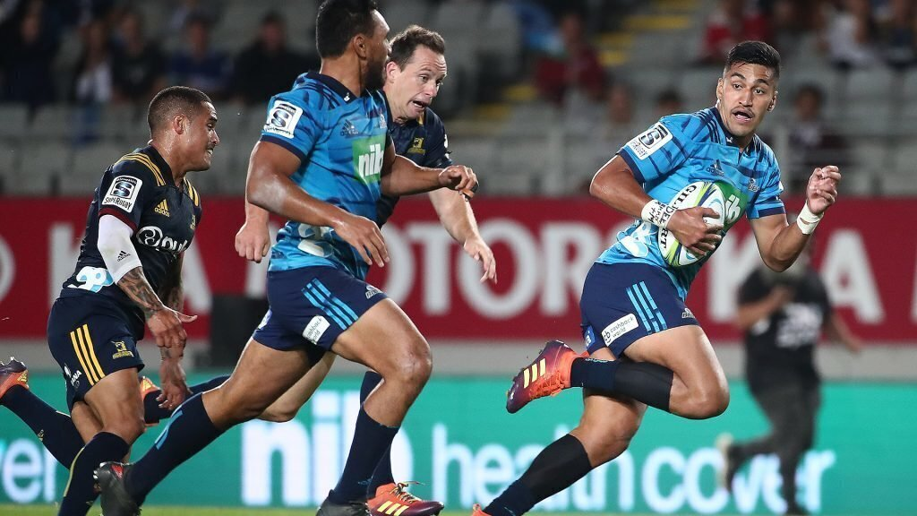 VIDEO: Blues win Auckland thriller