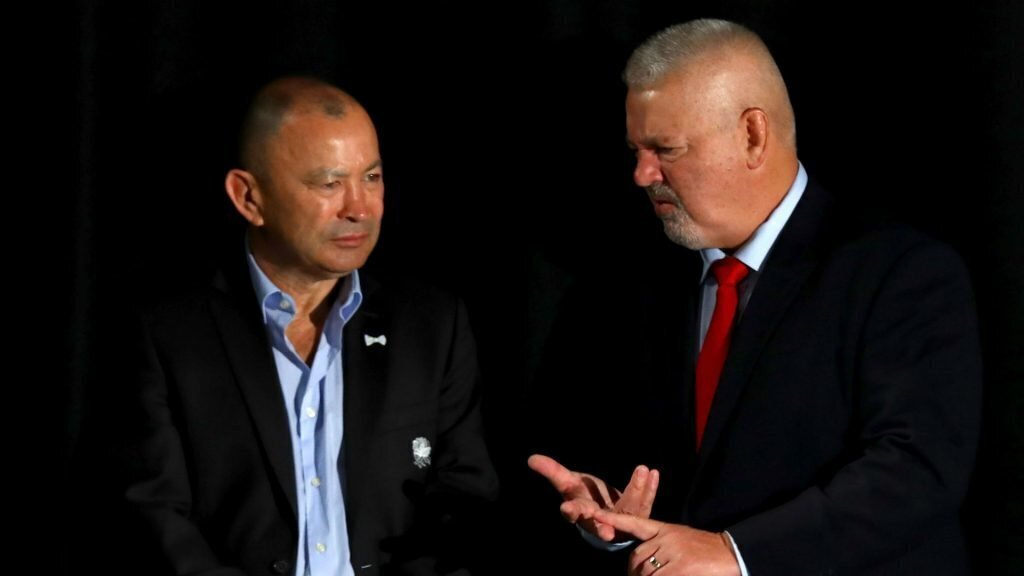 Eddie Jones belittles blazer boys