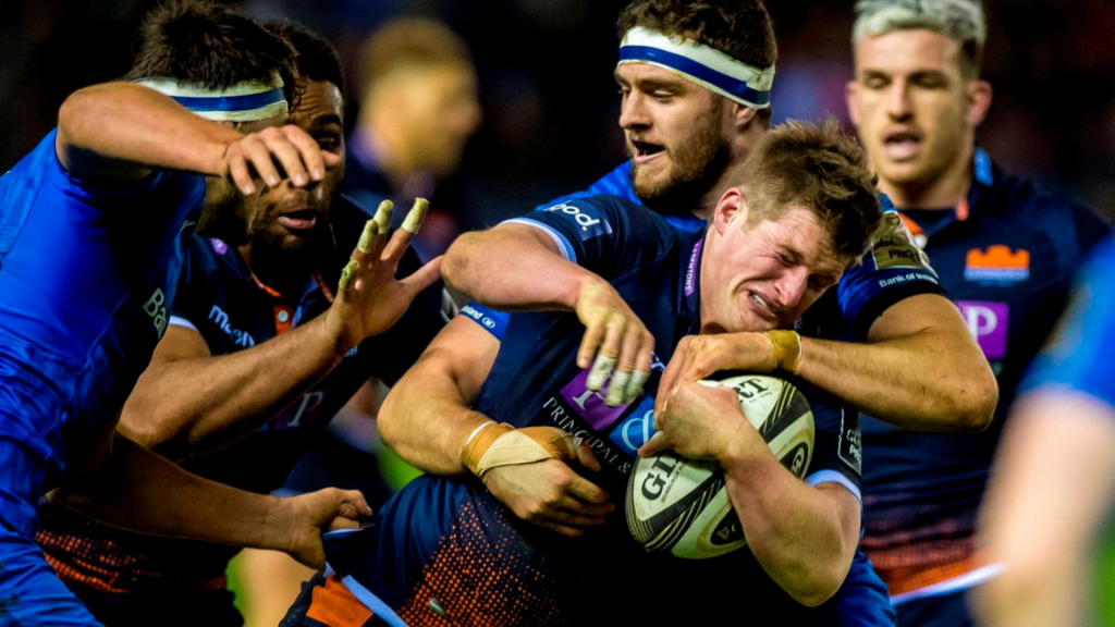 Edinburgh power past reigning champs Leinster