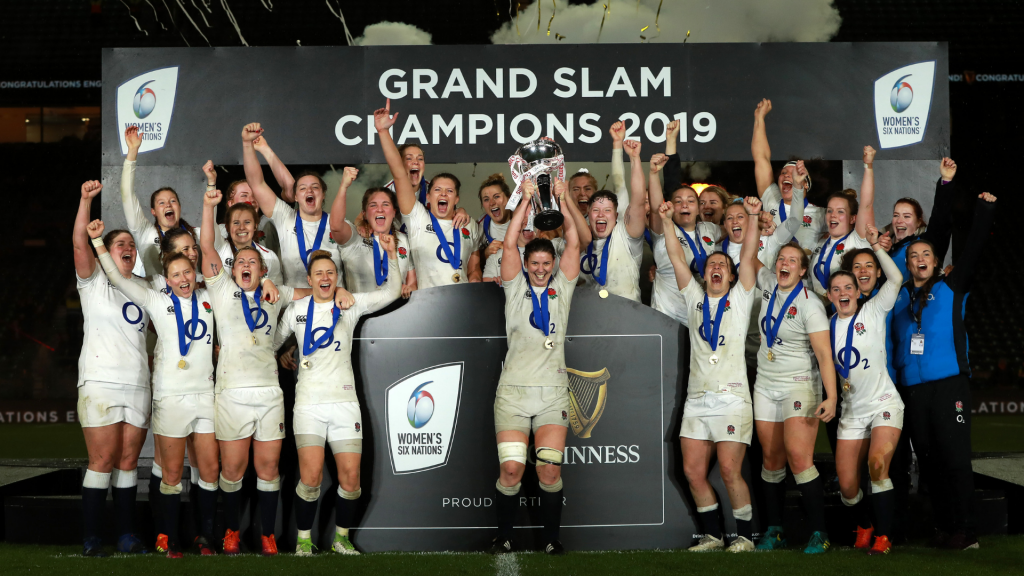 6N Women: England Gallop to Grand Slam