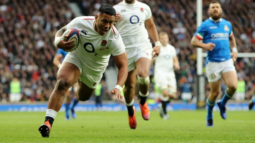 England score eight in try rout against Italy
