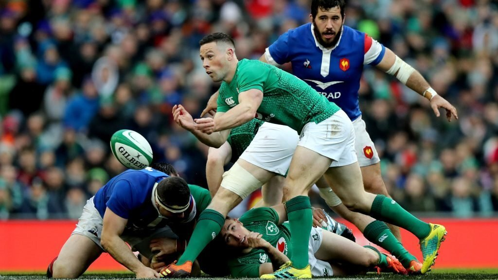 Irish send warning to Wales with win over France