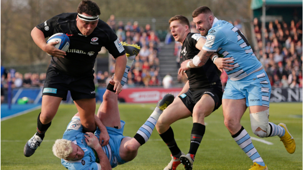 Saracens overpower Glasgow in Champions Cup quarterfinal