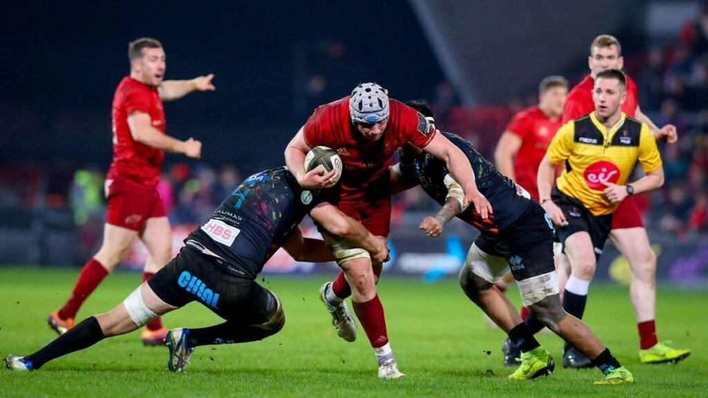 Munster's late run too much for Zebre