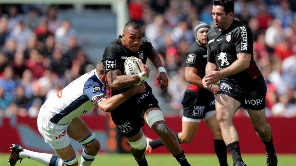 Samoan forward to leave Toulouse for struggling Perpignan