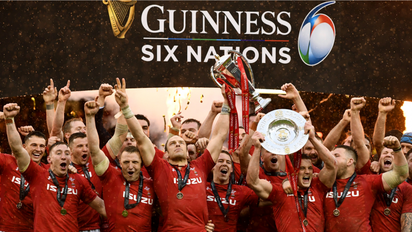 VIDEO: Wales' Grand Slam celebrations