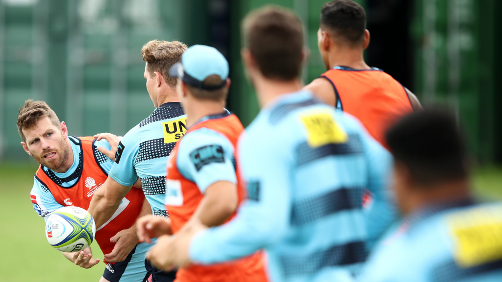 Waratahs change two for Crusaders clash