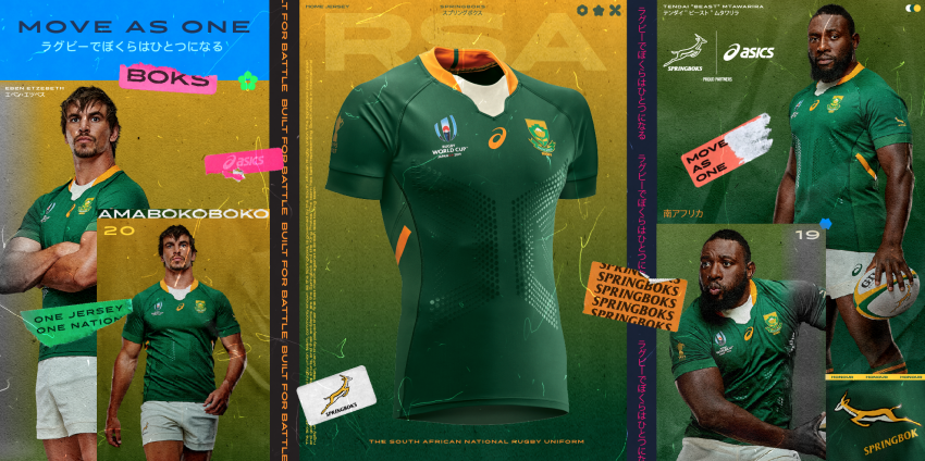 9d7af386eaa Video: Bok World Cup Jersey Unveiled | Rugby365