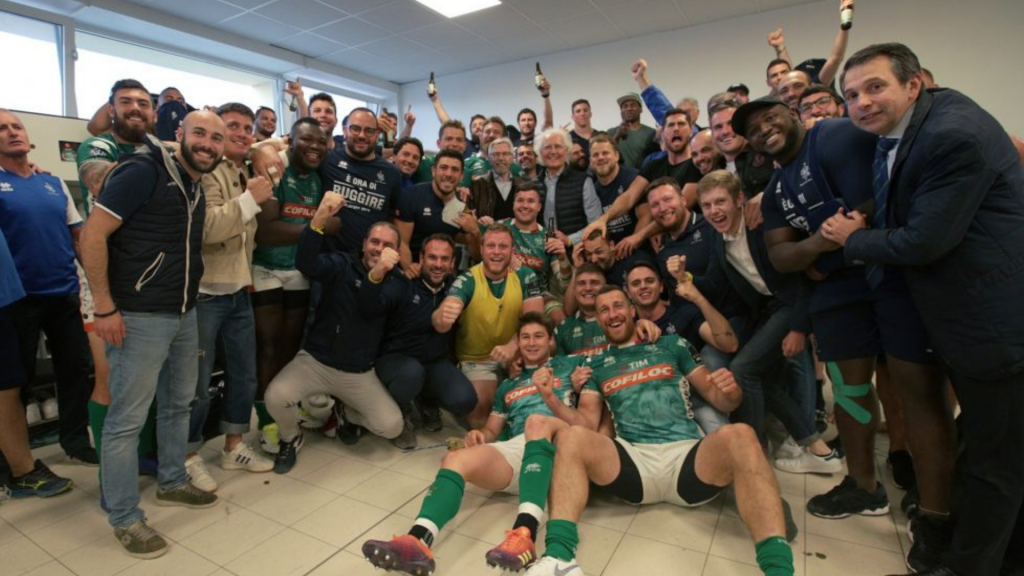 History-makers Benetton reach play-offs