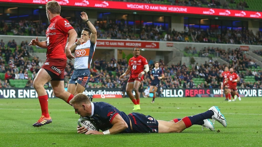 Hodge hat-trick gets Rebels over the line