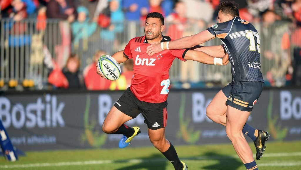 Crusaders make big backline changes for Bulls clash