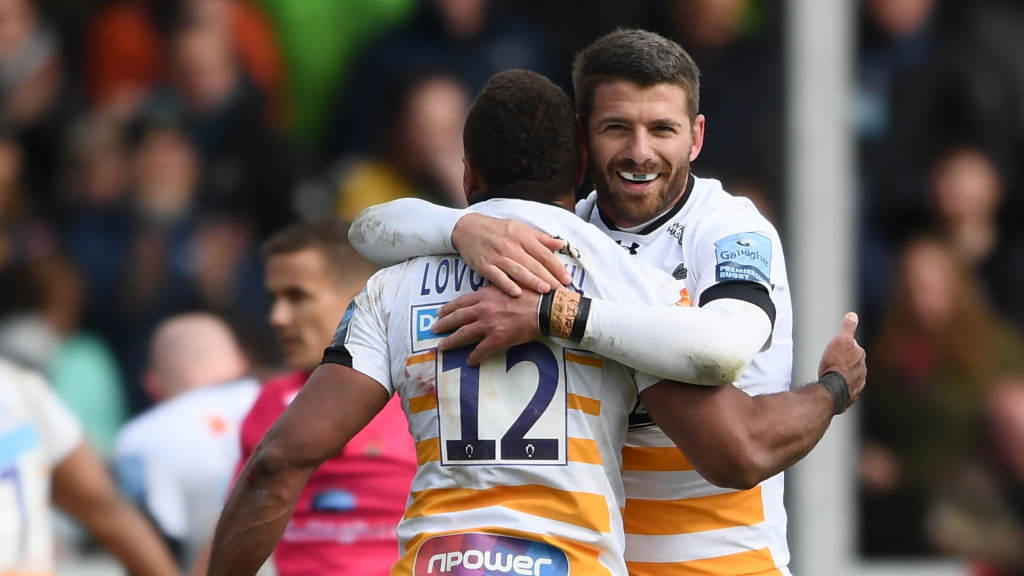 Le Roux leads Wasps fightback to keep play-off hopes alive