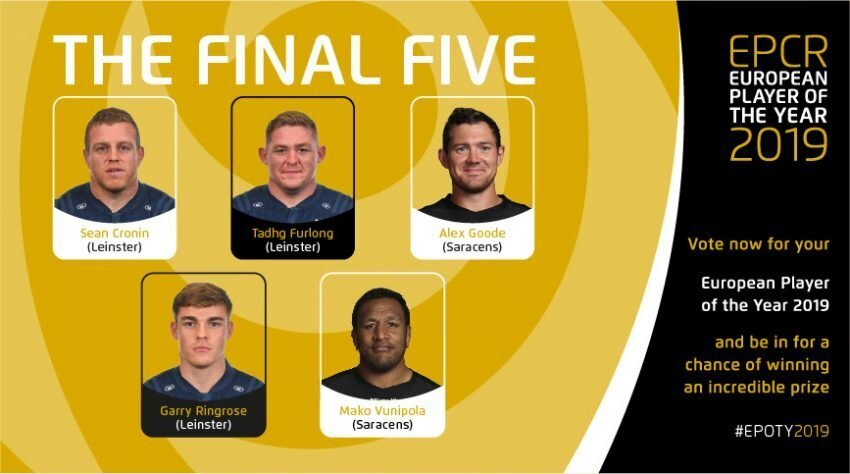 Champions Cup Final five 2018/2019
