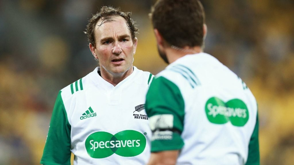 World Cup snub forces Kiwi ref's hand