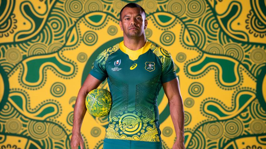 Kurtley Beale indigenous jersey 2019