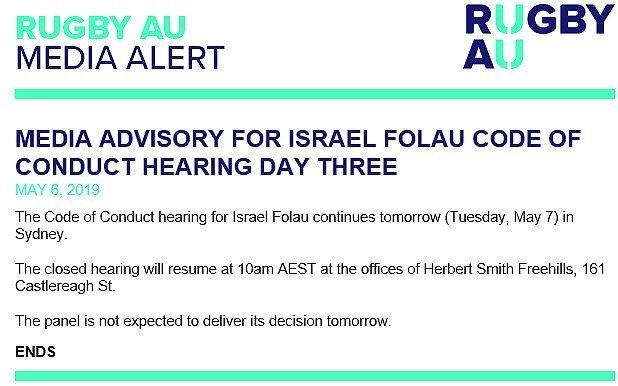 Rugby-Australia-statement-on-Folau-hearing---Monday