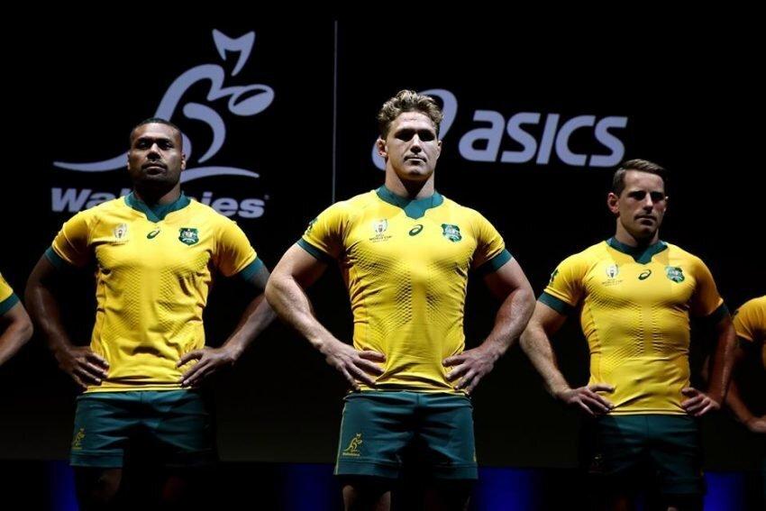 VIDEO: Wallabies unveil 2019 World Cup jersey