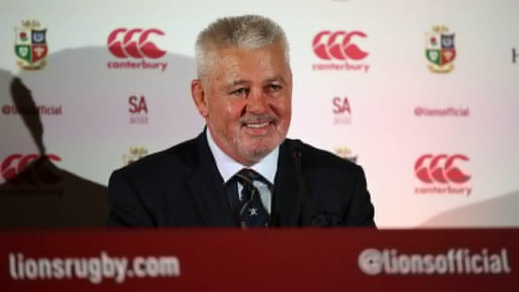 BREAKING: Gatland to coach B&I Lions to SA 2021