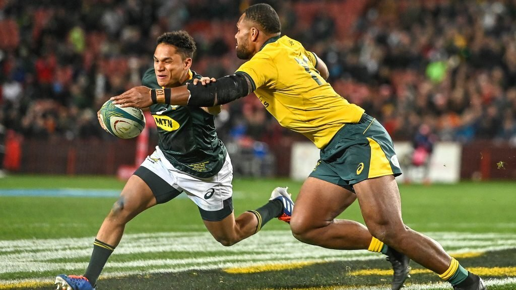 'Awesome' Jantjies gives Boks real depth