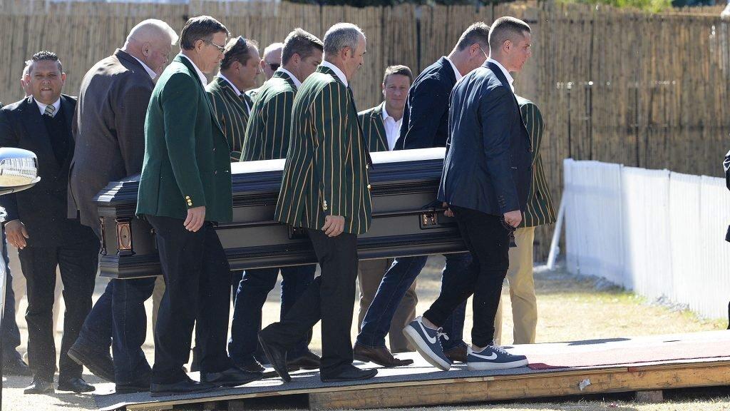 Final farewell for Bok legend