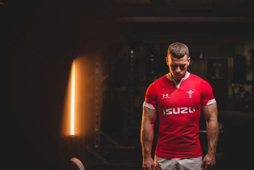 Wales red jersey 2019