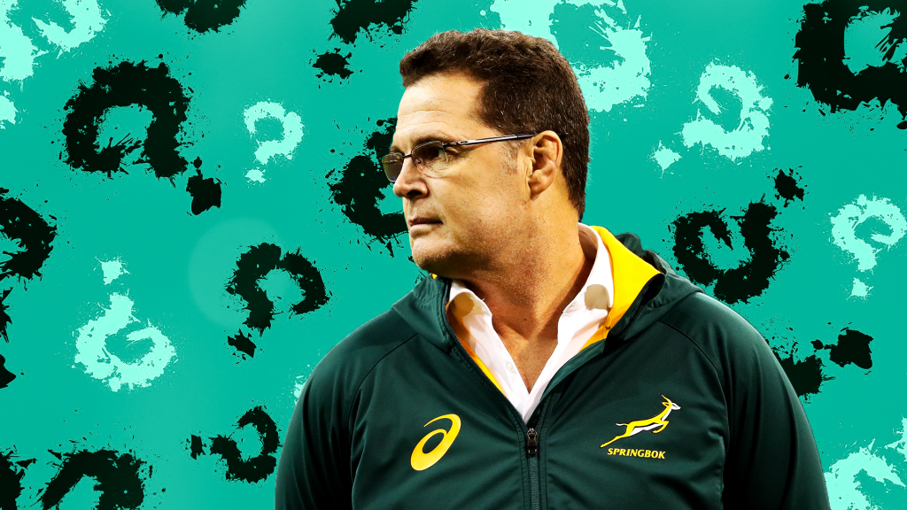 Rassie 'spreading the Bok load'
