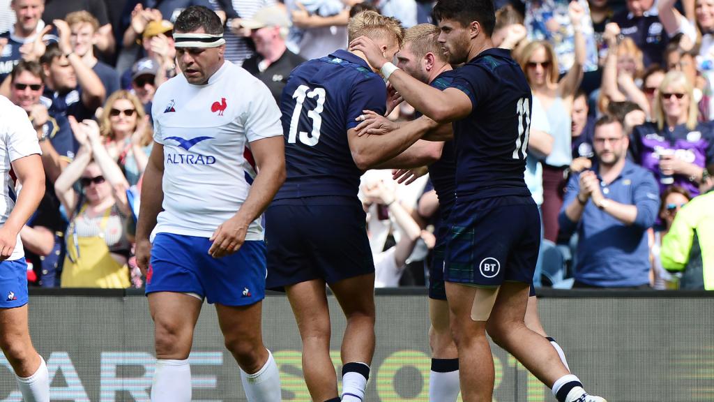 Scotland's second-half blitz floors France