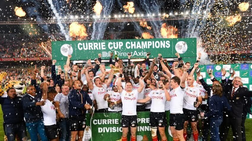Free State Cheetahs Currie Cup champions