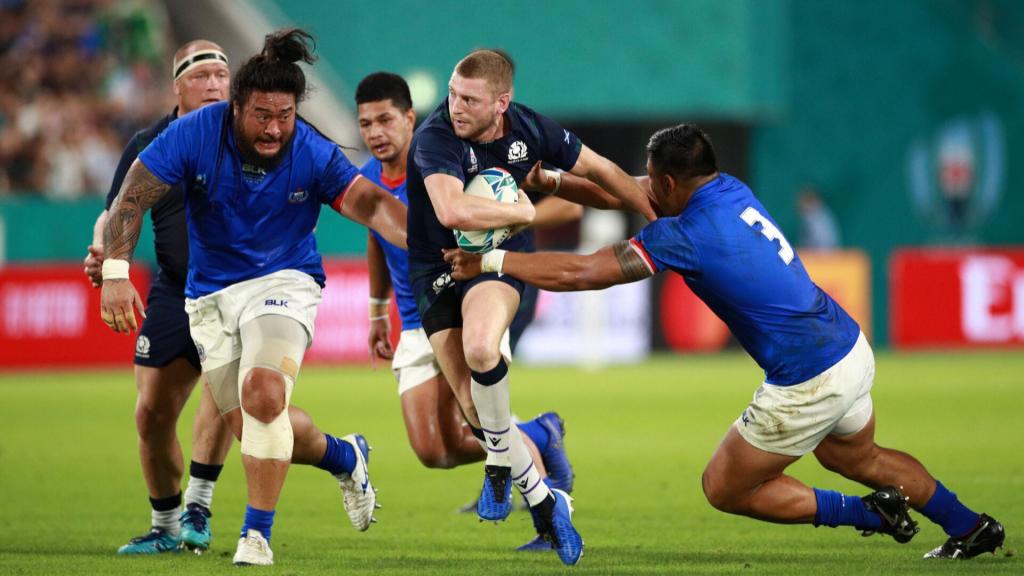 Scotland outplay Samoa to keep World Cup hopes alive