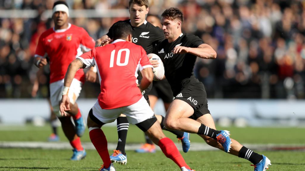 VIDEO: Bridge scores four as All Blacks destroy Tonga