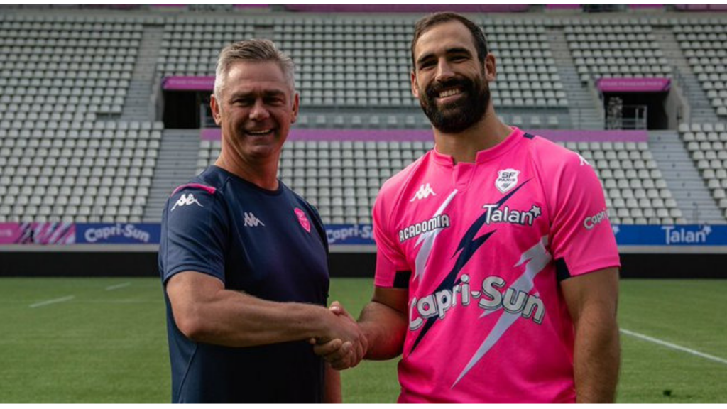Strauss joins Stade Francais